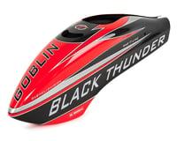 SAB Goblin Black Thunder T Fiberglass Canopy (Black/Red)