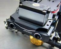 Image 3 for Samix Enduro Brass Short Front Bumper Mount w/Adjustable Servo Mount (Black)