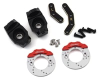 Samix Enduro Brass Heavy Steering Knuckle Set w/Brake Rotor & Caliper