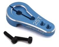 Samix Element Enduro Aluminum Servo Horn (25T-ProTek/Futaba) (Blue)
