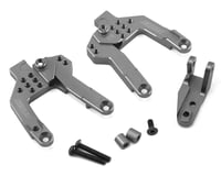 Samix SCX10 II V2 Front Shock Plate (2) (Grey)