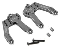 Samix SCX10 II Rear Shock Plate (2) (Grey)