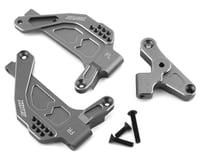 Samix SCX10 III Front Shock Plate (2) (Grey)