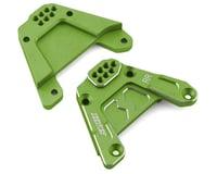 Samix SCX10 III Rear Shock Plate (2) (Green)