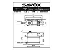 "Image 2 for Savox SV-1270TG Digital ""Monster Torque"" Titanium Gear Servo (High Voltage)"