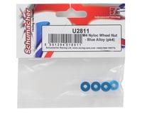 Image 2 for Schumacher 4mm Aluminum Locknut (Blue) (4)