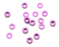 Schumacher Mi4 3mm Aluminum Spacer Set (Purple) (16)