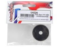 Image 2 for Schumacher 48P CNC Slipper Spur Gear (71T)