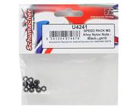 Image 2 for Schumacher SPEED PACK M3 Aluminum Locknut (Black) (10)