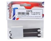 Image 2 for Schumacher Carbon Fiber LiPo Strap (2)