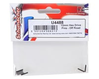 Image 2 for Schumacher 12mm Hex Drive Pin Set (8)