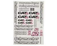 Schumacher CAT K2 Decal Sheet | relatedproducts
