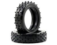 "Schumacher ""Mini Spike"" Slim 2.2"" 1/10 2WD Buggy Front Carpet Tires (2)"