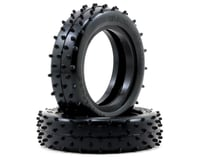 """Image 1 for Schumacher """"Mini Spike"""" Slim 2.2"""" 1/10 2WD Buggy Front Carpet Tires (2) (Yellow)"""