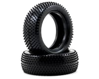 """Image 1 for Schumacher """"Mini Pin"""" 2.2"""" 1/10 4WD Buggy Front Carpet Tires (2) (Yellow)"""