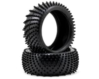 """Image 1 for Schumacher """"Spiral"""" 1/8 Buggy Tires (2) (Silver)"""