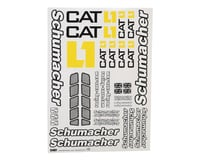 Schumacher CAT K1 Decal Sheet | alsopurchased