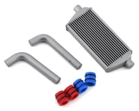 Sideways RC Scale Drift Full Intercooler Kit (Silver) (Small)