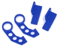 Sideways RC Scale Drift JDM Tow Hook (Blue) (2) (Style 3)