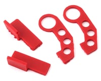 Image 1 for Sideways RC Scale Drift JDM Tow Hook (Red) (2) (Style 3)