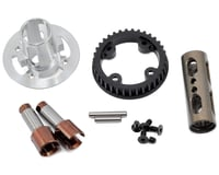 Serpent 747e 748 Aluminum Front Solid Axle Set