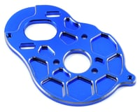 """Schelle Racing B5M """"4 Gear"""" Vented Motor Plate (Blue) 