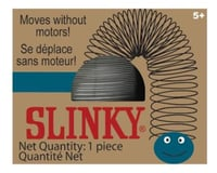 Slinky Science Slinky 105BL Metal Original Slinky in Collectible Blue Retro Box, Silver