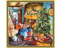 Sunsout Father Playing w/Christmas Train Set (500pcs)