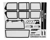 SOR Graphics Axial JKU Window Detail Kit w/Window Mask (Clear) | relatedproducts