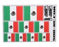 SOR Graphics Universal Mexican Flag Decal Sheet