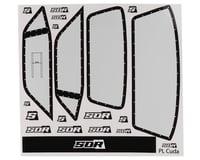 SOR Graphics Eliminator Pro-Line 'Cuda Window Decals (Clear) (DragRace Concepts Slash Drag Pak)