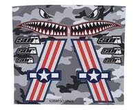 SOR Graphics Warfighter Decal Kit (Red, White & Blue Matte) (Large) | relatedproducts