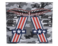 SOR Graphics Warfighter Decal Kit (Red, White & Blue Matte) (Medium)