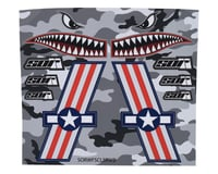 SOR Graphics Warfighter Decal Kit (Red, White & Blue Gloss) (Large)