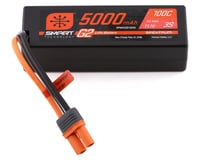 Spektrum 11.1V 5000mAh 3S 100C Smart G2 Hardcase LiPo Battery: IC5 SPMX53S100H5