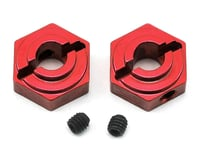 ST Racing Concepts Arrma Aluminum Rear Hex Adapters (2) (Red) | relatedproducts