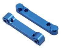 ST Racing Concepts Arrma Vorteks Aluminum Front & Rear Hinge Pin Blocks (2) (Blue)