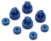 ST Racing Concepts Arrma Vorteks Aluminum Upper & Lower Shock Caps (Blue)