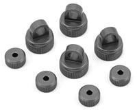 ST Racing Concepts Arrma Aluminum Upper & Lower Shock Caps (Gun Metal)