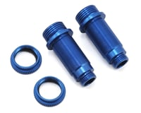 ST Racing Concepts Arrma Vorteks Aluminum Front Threaded Shock Bodies (2) (Blue)