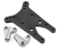 Image 1 for ST Racing Concepts 4mm Graphite Front Shock Tower w/Aluminum Standoff (Gun Metal)