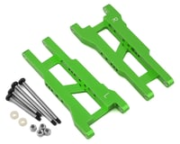ST Racing Green Heavy Duty Rear Suspension Arm Kit with Lock-Nut Hinge Pins STRST3655XG (Traxxas Stampede)