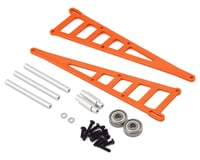 ST Racing Concepts Traxxas Slash Aluminum Adjustable Wheelie Bar (Orange)