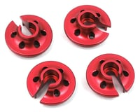 ST Racing Concepts Traxxas 4Tec 2.0 Aluminum Lower Shock Retainers (4) (Red) | relatedproducts