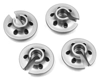 ST Racing Concepts Traxxas 4Tec 2.0 Aluminum Lower Shock Retainers (4) (Silver) | relatedproducts