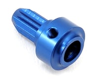 ST Racing Concepts Aluminum Center Driveshaft Front Hub (Blue) | relatedproducts