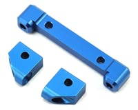ST Racing Concepts Traxxas 4-Tec 2.0 4Tec Aluminum Front Hinge Pin Blocks (Blue)