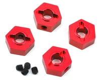 ST Racing Concepts Traxxas 4Tec 2.0 Aluminum Hex Adapters (4) (Red) | relatedproducts