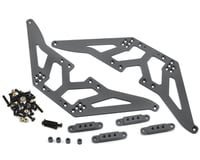 ST Racing Concepts SCX10 Aluminum Chassis Lift Kit (Gun Metal)