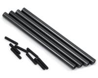 ST Racing Concepts SCX10 Aluminum Lower Suspension Link Set (4) (Black)